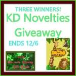 KD Novelties A Day at the Zoo Personalized Children's Book #GIVEAWAY Ends Dec. 6 *ENDED*