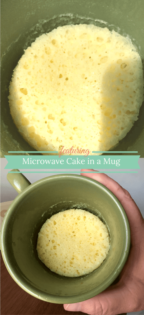 Dessert for one? Microwave Cake in a Mug!