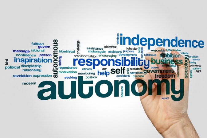 sobriety and relapse pic: the word autonomy surrounded by other related words