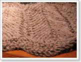 Here is Dina's lovely shawl