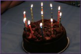 11 Candles Glowing