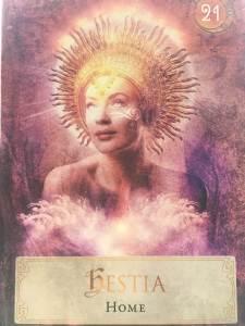 Angel Reading - Goddess Deck