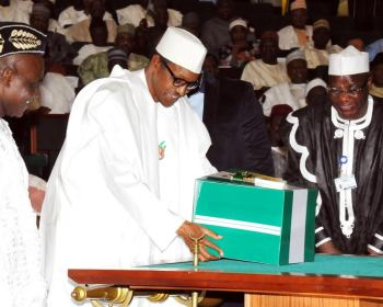 Signing of 2018 Budget | National Assembly