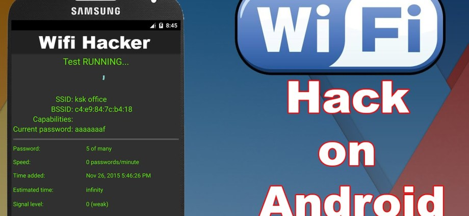 How to Crack Wi-Fi Network with Android Phone