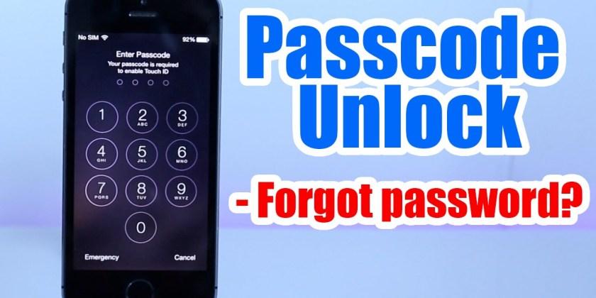 How to Unlock iPhone Passcodes