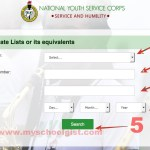 How to Check NYSC Senate List for Batch C