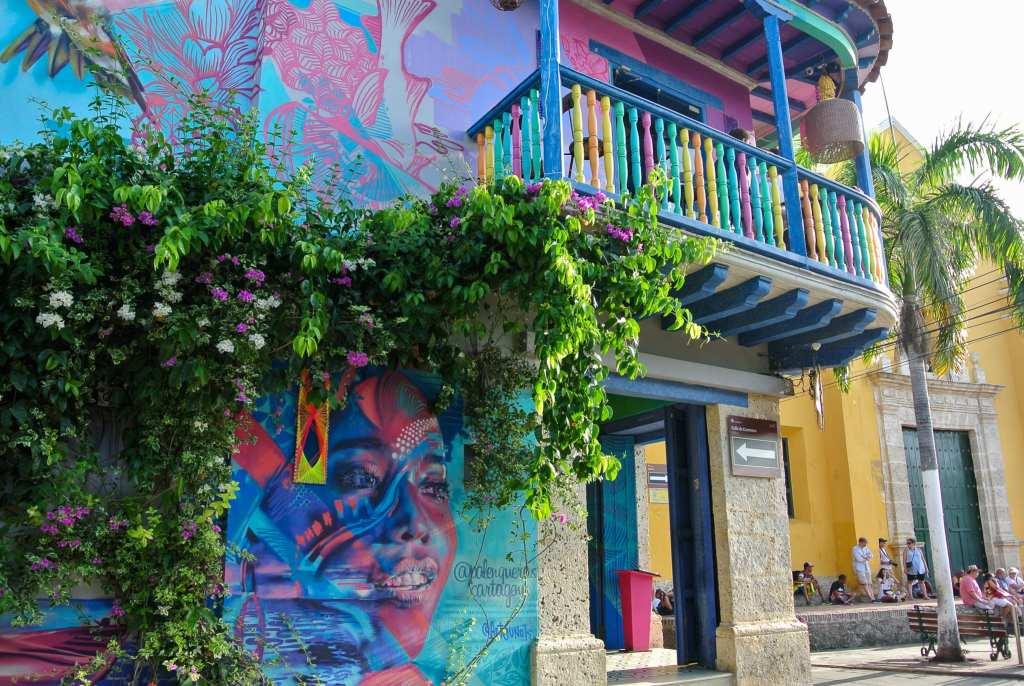 Le street Art du quartier de Getsemani