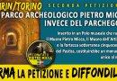 TORINO – GRAVI DISTRUZIONI DEL PATRIMONIO ARCHEOLOGICO