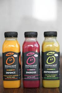 Innocent Natural Detox Smoothie. Kokteilis už 3,99 Eur.