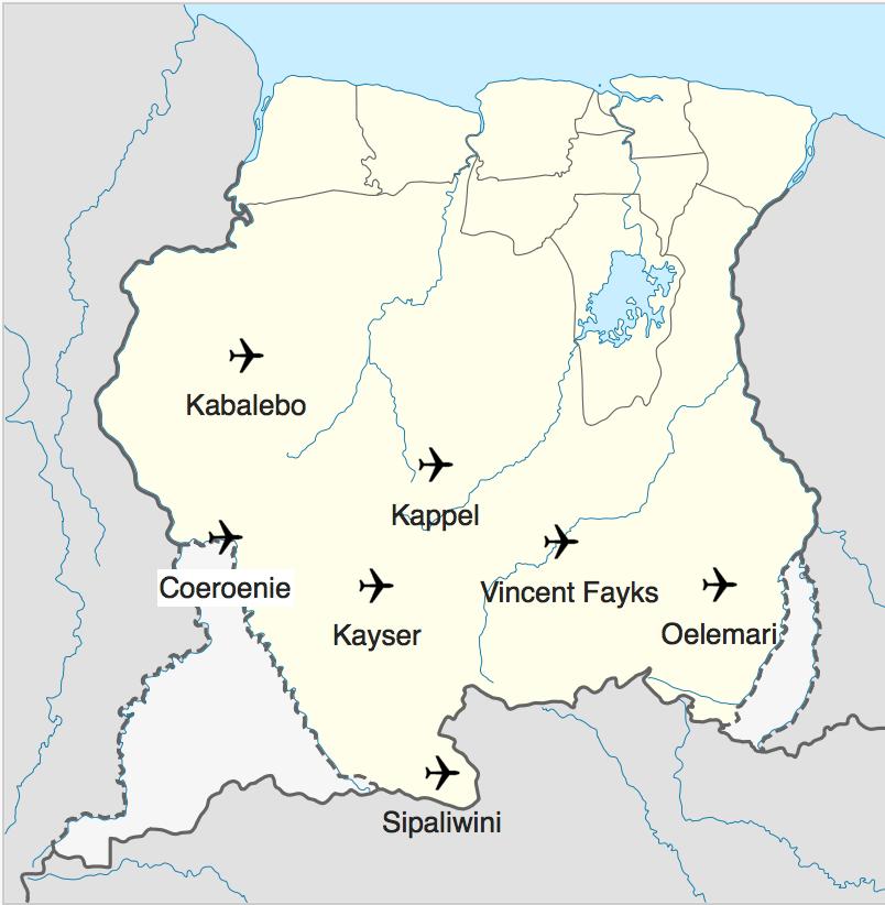 Binnenlandse Vliegvelden