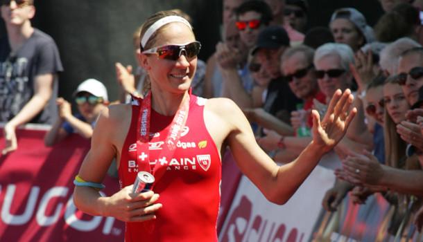 Daniela Ryf,  bicampeã mundial de Ironman 70.3