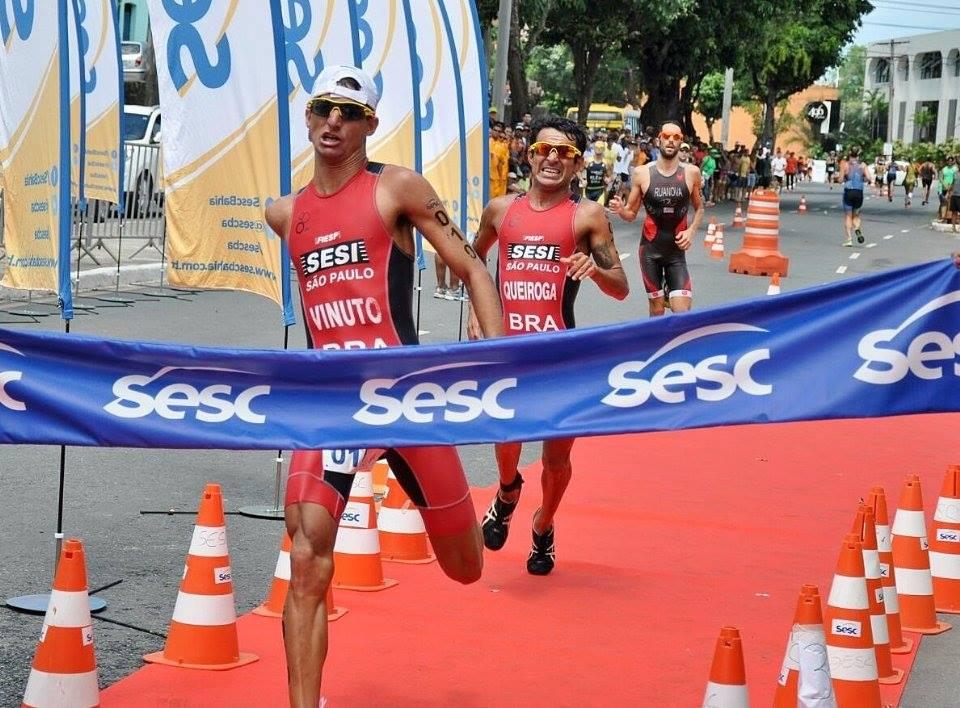 O sprint final do vencedor Iuri Vinuto. Foto: Sandra Midlej