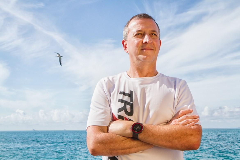Marcelo Holcberg, treinador brasileiro campeão estadual de triathlon na Flórida