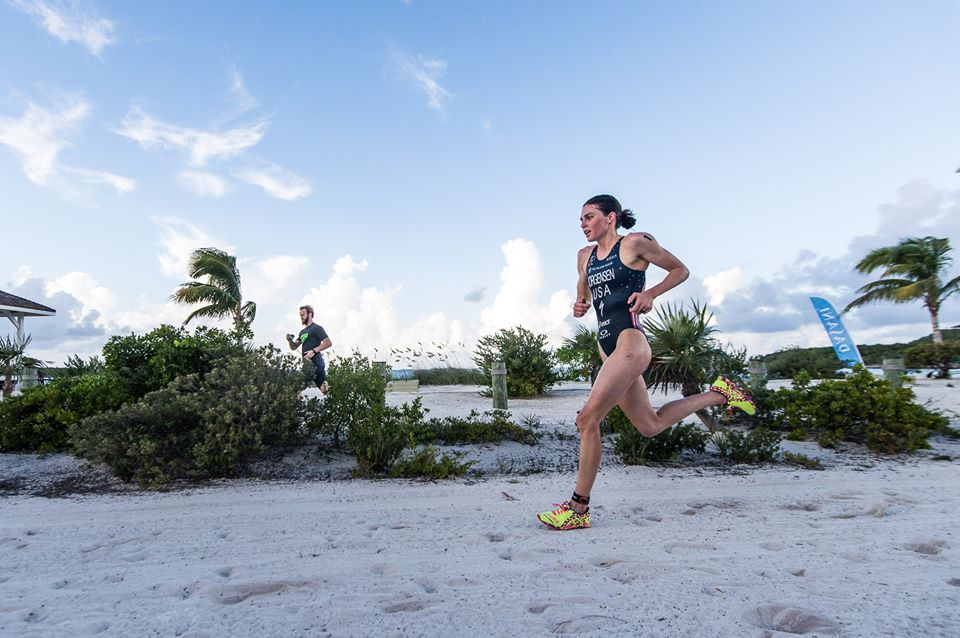 Gwen Jorgensen no Island House Invitational Triathlon 2015