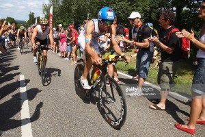 during the Challenge Roth on July 10, 2011 in Roth, Germany.