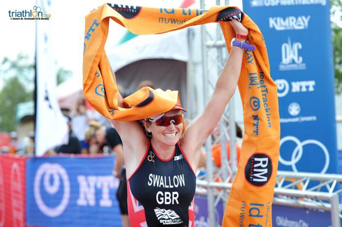 Jodie Swallow, campeã mundial de Longa Distância da ITU 2016. Foto: ITU Mídia