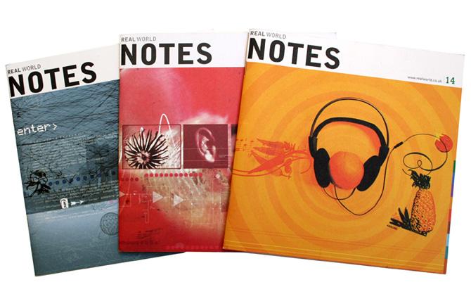 Real World Notes - Magazine design