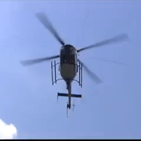 Woman airlifted to hospital