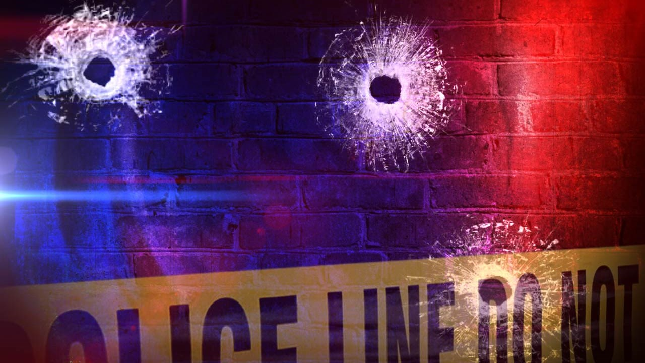 Shooting Generic Bullets Police Line