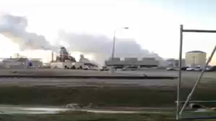 Reported Explosion at Valero