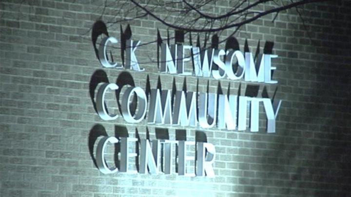 CK Newsome Community Center web
