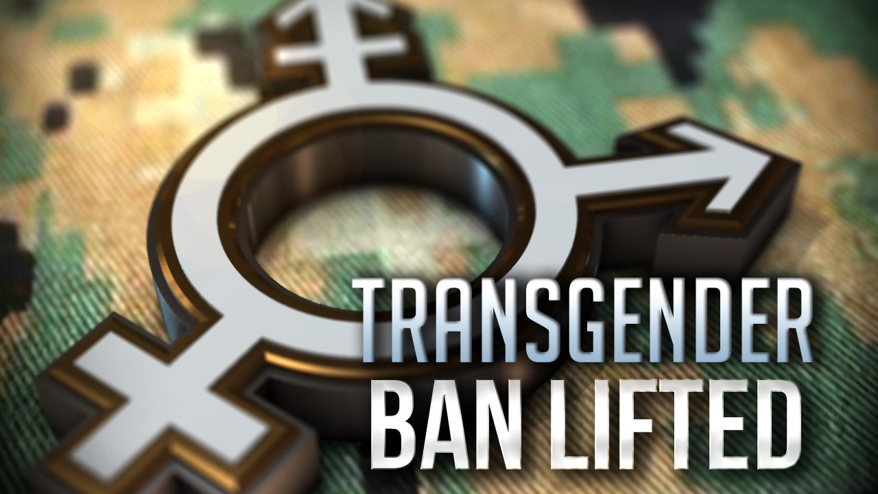 transgender ban military lifted