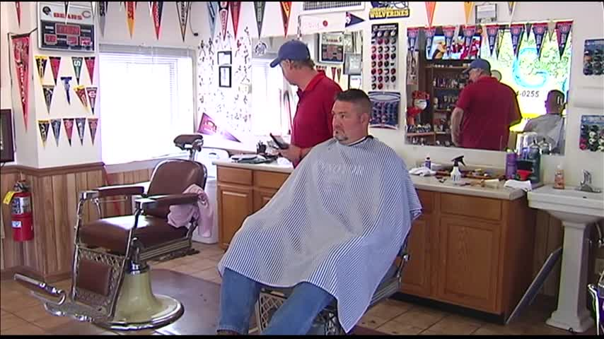 Evansville Barber Ready for Cubbies Magic_66865284-159532