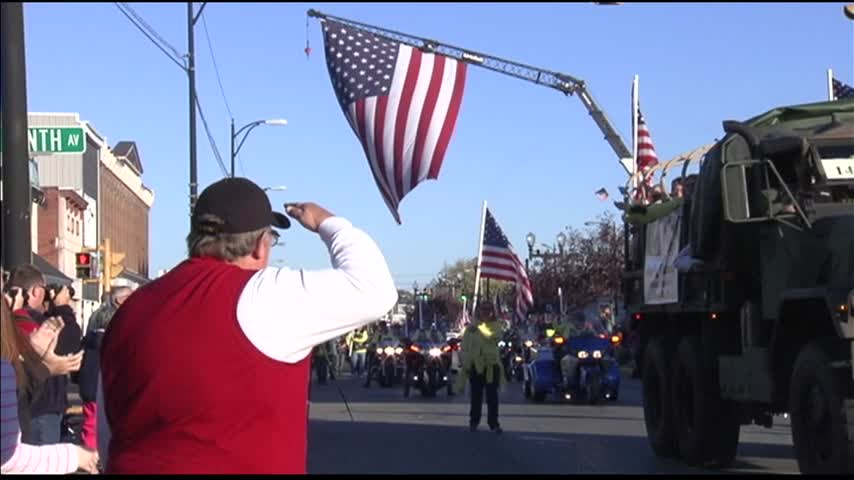 Veterans Celebrated in Four Freedoms Veterans Parade_14320686-159532
