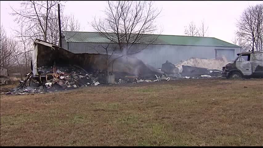 Mobile Home Goes up in Flames_12997656