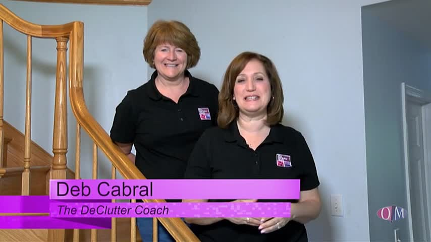 The DeClutter Coach Deb Cabral organizes two bedrooms