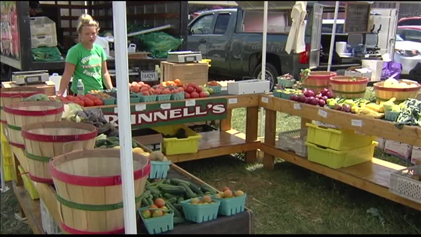 Kids Learn About Their Food at Weekly Farmers Market_38999322