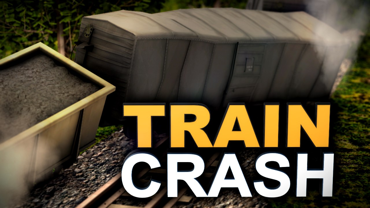 Trains derail and crash in Georgetown, KY