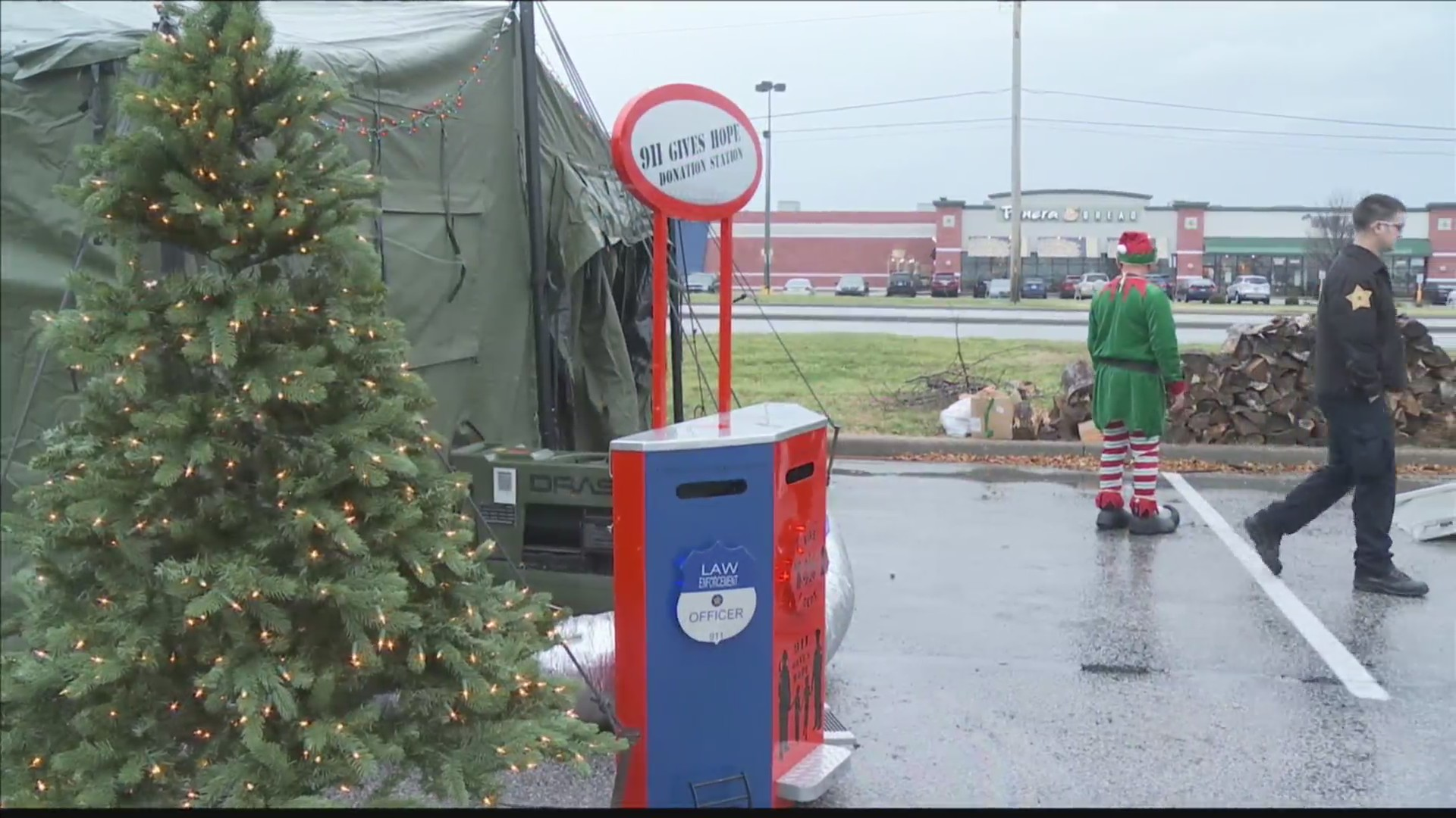 911 Gives Hope Toy Drive