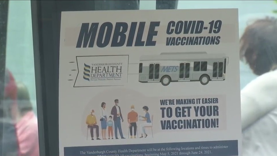 Evansville's mobile COVID vaccine clinic