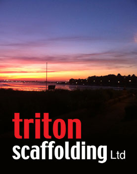 Triton Scaffolding Ltd - Sunset