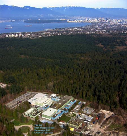 2.7 Aerial View of TRIUMF