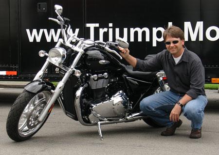 Tim Prentice, designer de la T-bird 2010