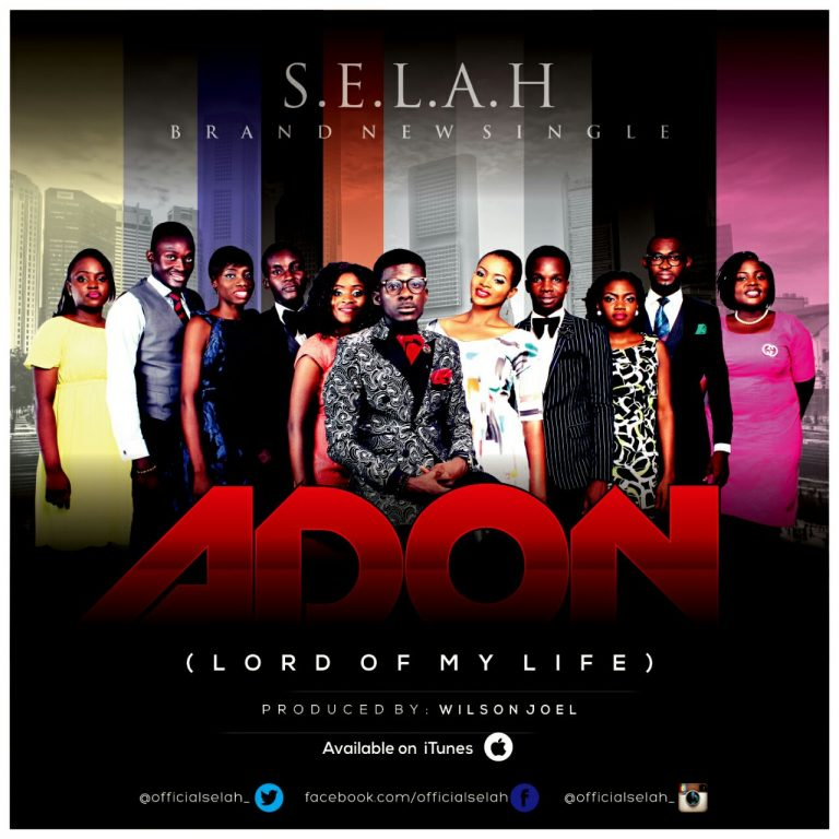 'ADON' New Song Release by S.E.L.A.H | @121selah