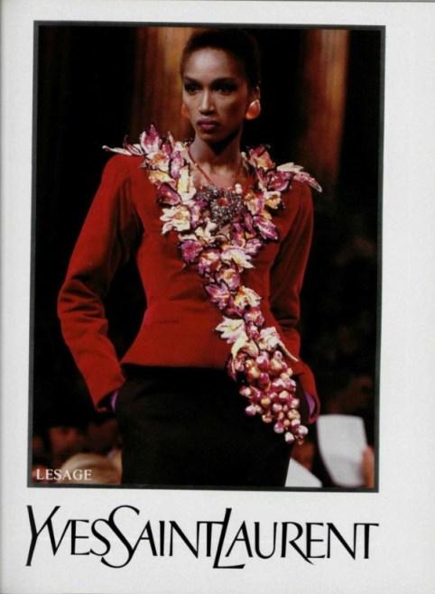 naomicampbelYSL_katoucheFAll1988_photos_Arthur Elgort, Francois Halard, Claus Ohm-1-legendary supermodel