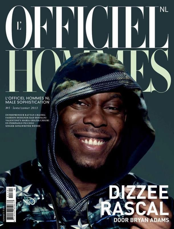 Dizzee Rascal- L'Officiel Hommes Netherlands June 2013