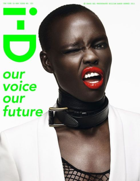 Grace Bol- ID Magazine June 2013