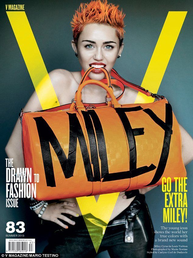 Miley Cyrus- V Magazine June 2013