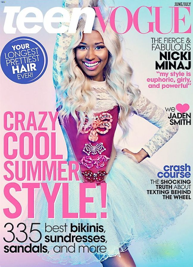 Nicki Minaj- teen vogue june 2013