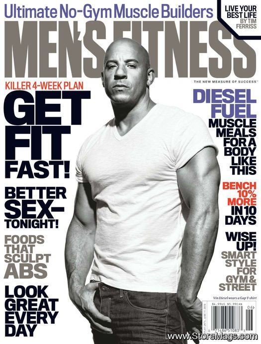 Vin Diesel- Mens Health June 2013