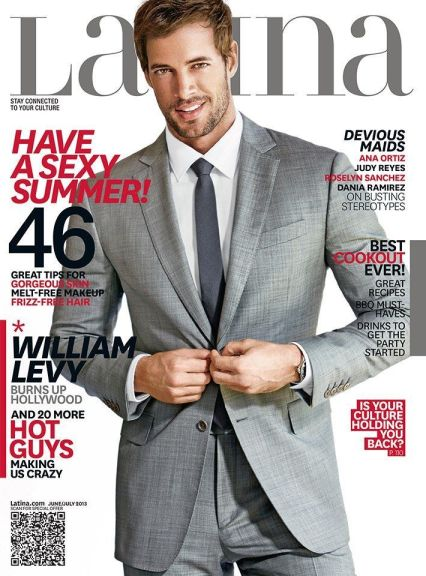 William Levy- Latina June 2013