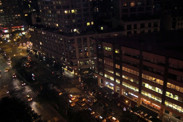 Empire Hotel Rooftop view