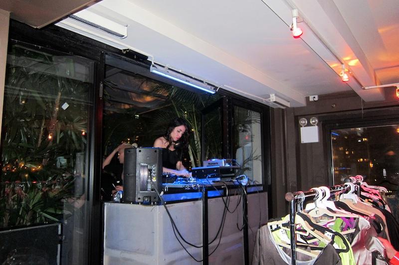 NYFW Empire hotel DJ