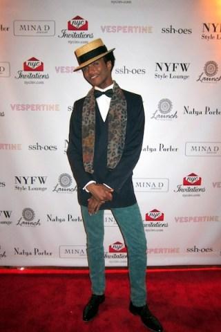 Tony Triumph NYFW Style Lounge