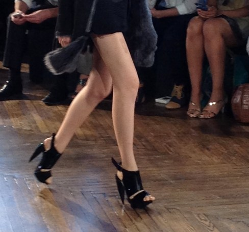 shoes on runway-001