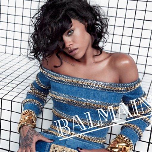 Rihanna Balmain spring summer 2014